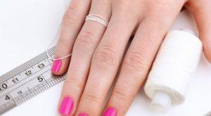 Определение размера кольца с помощью нитки
