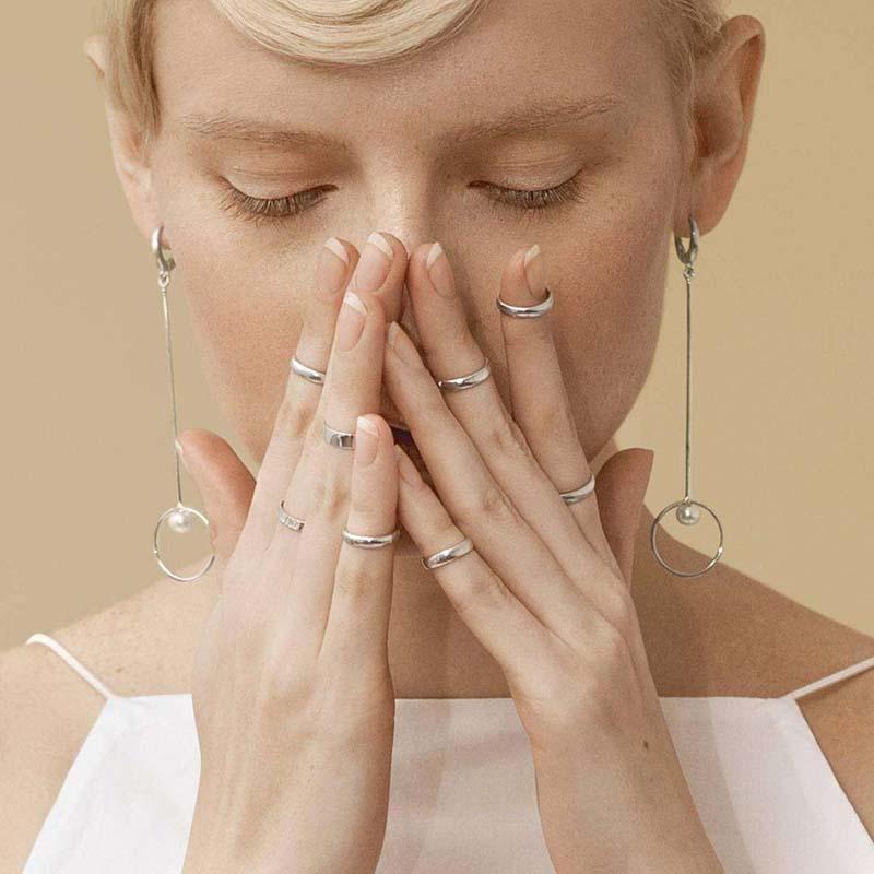 как носить кольца на фаланги