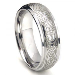 кольцо из медицинской стали - вставка