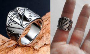 женские кольца из медицинской стали
